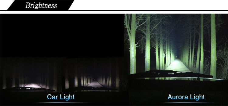 120 Wide beam IP69K Bright 30'' 4x4 Led Single Scene Light Bar ATV