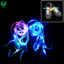 Sport Items Colorful Lite Logo Bright Led Laces,Flash Light Shoelaces,Light up Laces