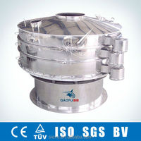 Round Vibration Separating Sieve for Screening Plastic Powder or Particles