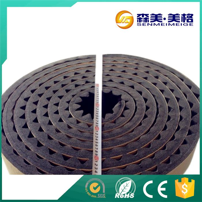 China supplier sound proof acoustic foam rubber egg crate panels