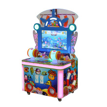 Hot Sale Upright Arcade Game Sales/Coin Redemption Machine Manufacturer Funny Fish