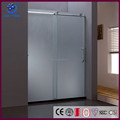 304 Stainless Steel Roller Shower Enclosure Cubicle Tempered Glass Sliding Shower Door(KD8013A)
