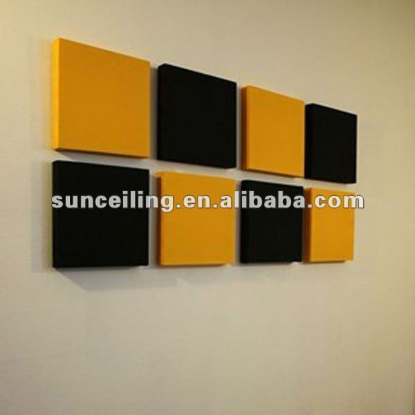 Colorful Acoustic Decorative Wall Panels Sketch - Wall Art Design ...