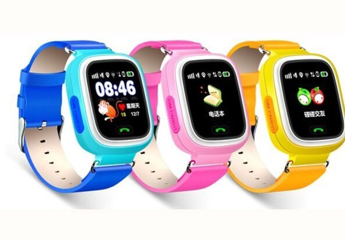 Kids Gsm Gps Tracker Watch Q80 Touch Screen Smart Tracking Watch Sports Activity Analysis Tracker Wristband With Sim Card