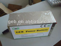 GEB hot selling Rechargeable LiFePO4 12V 30AH Battery pack
