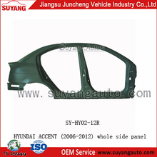 Whole Side Panel (L&R) FOR HYUNDAI ACCENT(2006-2012) Made in China hyundai accent accessories