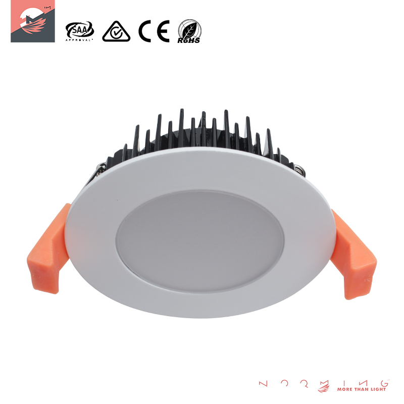 High quality LED down light, See larger image White shell LED COB Downlights Dimmable 13W recessed ceiling led down lights