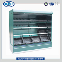 DMV3721O1 Refrigerated Produce Display Cooler For Supermarket