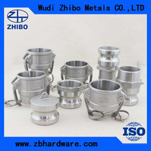 made in china dn25 stainless steel quick coupling