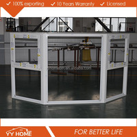 YY Home factory customized aluminum lowes bay window