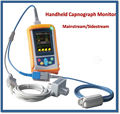 Portable 2.8 inch Handheld Capnograph Monitor with Sidestream CO2