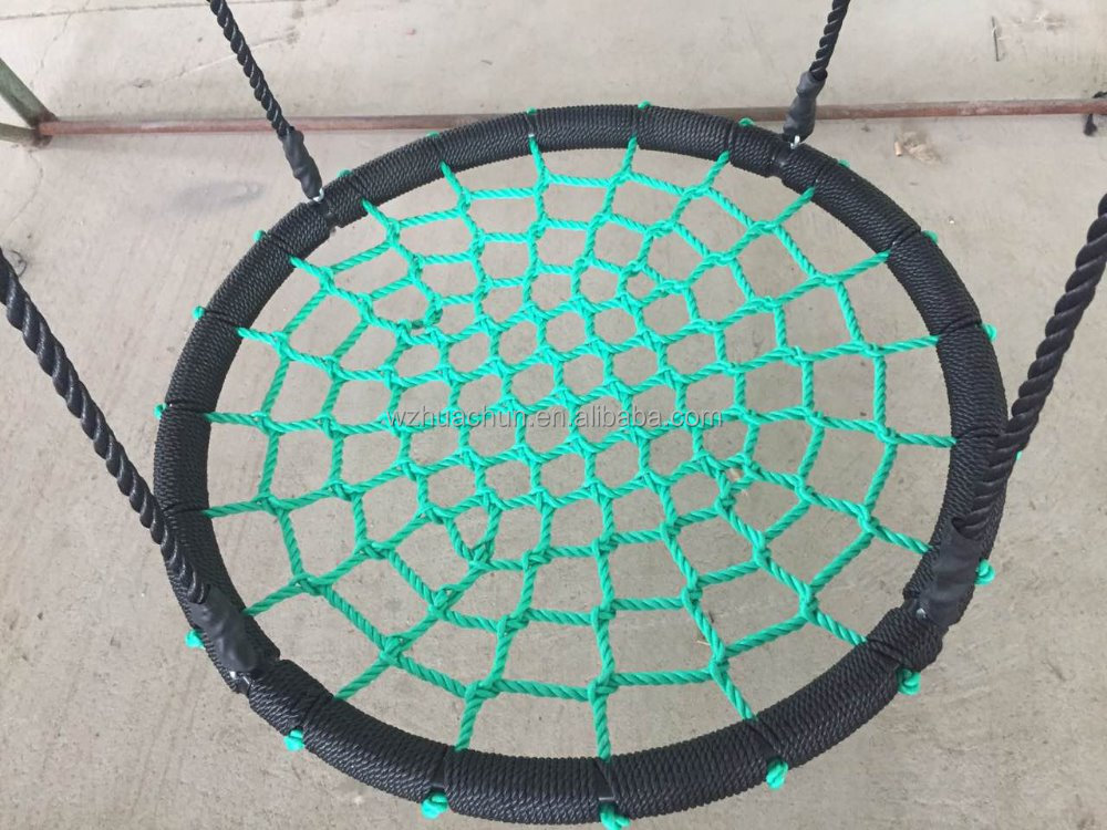 Camping 100cm round net swing chair for kids