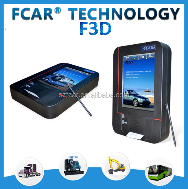 F3-D diesel diagnostic equipment for heavy duty trucks