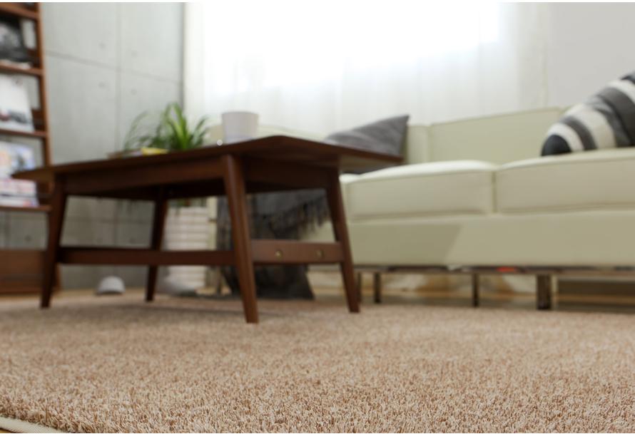 Lavable polyester ou polypropylène tapis shaggy fil