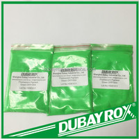 Green Fluorescent Pigment for Leather Coating