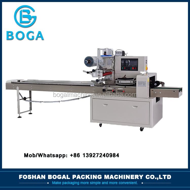 Good price wrap food horizontal pillow packaging machine
