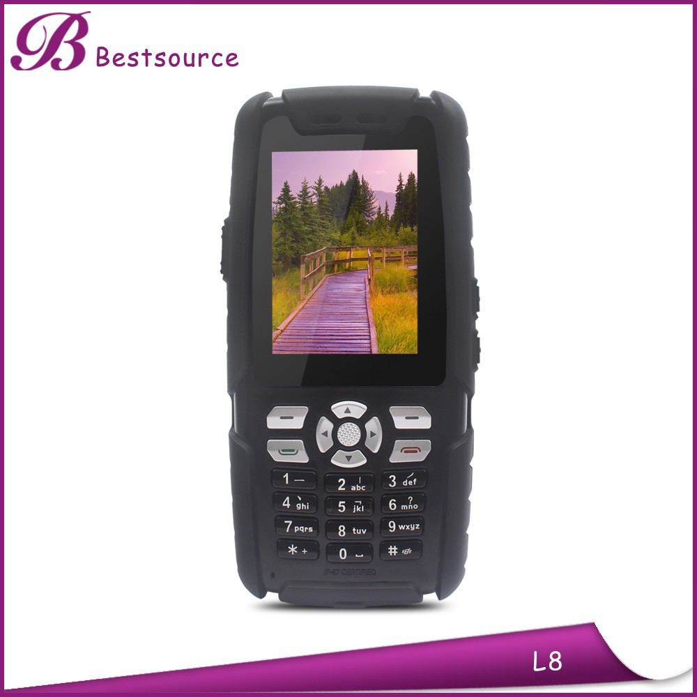 Shockproof long range walkie talkie 15km, key fob cell phone, sos button elderly cell phone