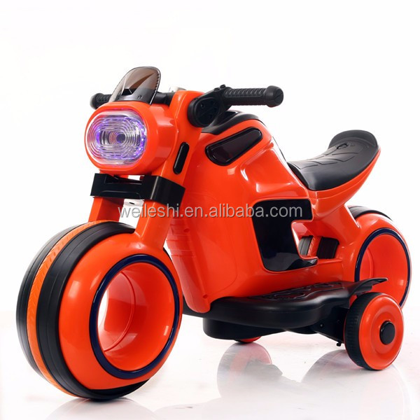 New kids ride on remote control power wheels car, Three wheel battery operated kids toy motor bike