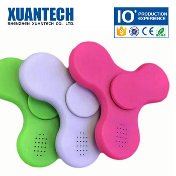 OEM wireless and rechargeable crazy spinner toy, plastic spinner, finger spinner