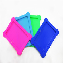 Cheap hot sale shockproof 7 inch protective tablet silicone case for kids