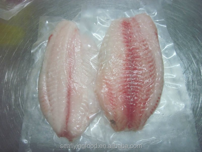 frozen black tilapia fish fillet