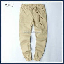 wholesale mens blank khaki joggers pants