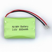 Rechargeable ni-mh battery pack aaa 600mah 3.6v for cordless phone