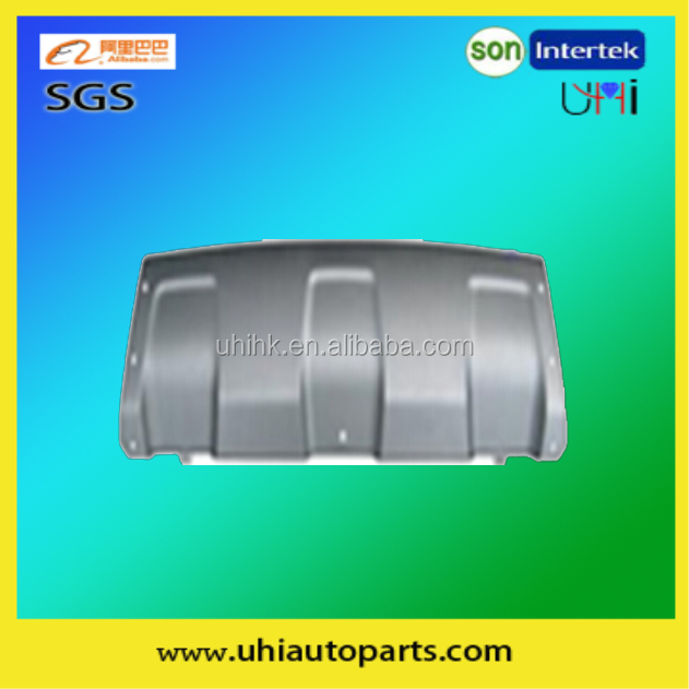 car spare/body parts factory/accessories---FRONT BUMPER LOWER PLATE(SILVER) 620728255R for 10 DUSTER