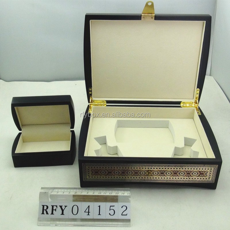 Luxury High End Wooden Perfume Packaging Box