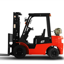 3 stage container mast 2-3.5 ton LPG/gasoline forklift truck for sale,new forklift