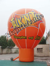 big advertising inflatable ground balloon 5mH KKM-L141