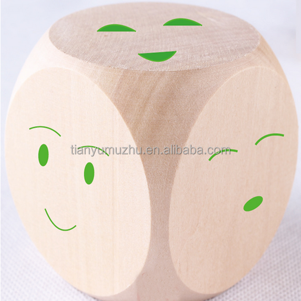 high quality promotional 3x3 wooden puzzle cube