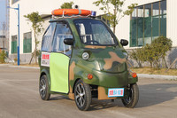 Mini electric patrol car with dog cage made in China