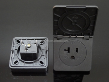 USA Waterproof socket Outlet Receptacle AC Power IP54 20A/125V