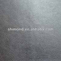 Small grain Embossed PU synthetic Leather material for sofa