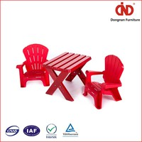 100% Test New Design Kids Folding Stackable Table And Chair Set