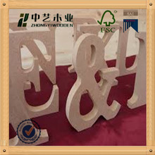 School supplies wooden cheap letter alphabet popular design small wood letter on sale
