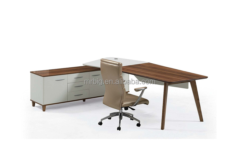 2014 newest style , office melamine manager table, M08-E24A