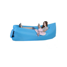 Wholesale air Lounger Fast Inflatable Air Bag Bed Sofa Couch Outdoor Beach Camping Hammock Lazy Chair Lounger