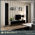 Northern-european High Gloss Wall Mounted Wall tv Side Cabinet Design