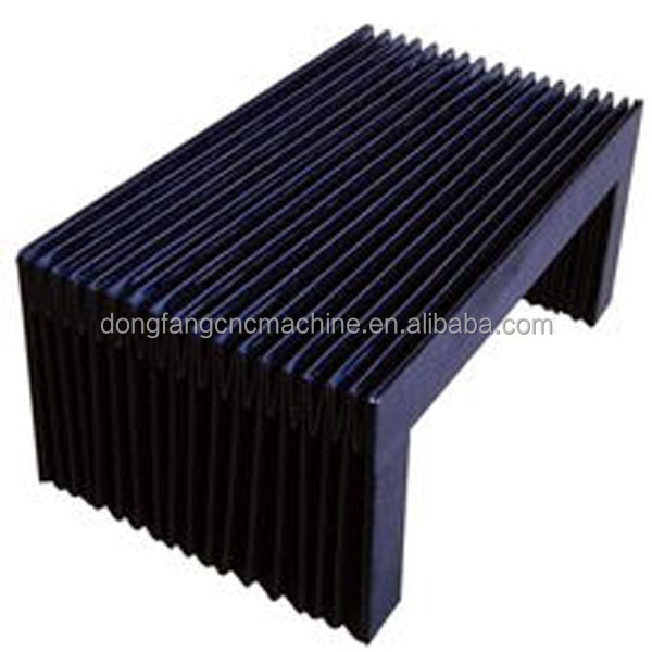 Wholesale Down stand U water resist bellows /accordion cover for CNC machine guard