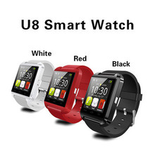 016 Hots U8 Factory Price Promotion Gift Smart Bluetooth Watch For Android Hands Free Call Smart Watch U8