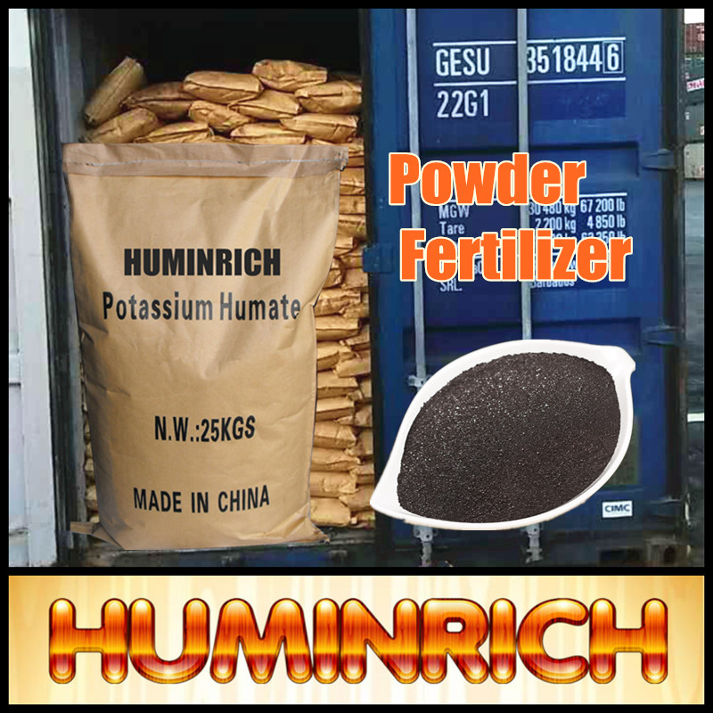 """HuminRich"" Peat Moss And Fertilizers Potassium Humate 90% From Leonardite"
