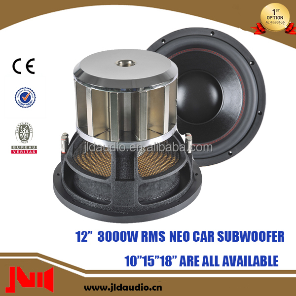 Made In China Neo Subwoofer 12 Inch Car Subwoofer With Neo Motor Car Speaker