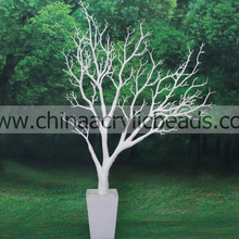 PU material wish fake coral trunk dry tree artifial plastic tree banch for wedding table centerpiece 85CM