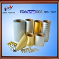 pharmaceutical aluminium packaging blister alu alu foil NY/AL/PVC
