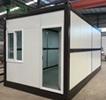 Factory price foldable container house luxury
