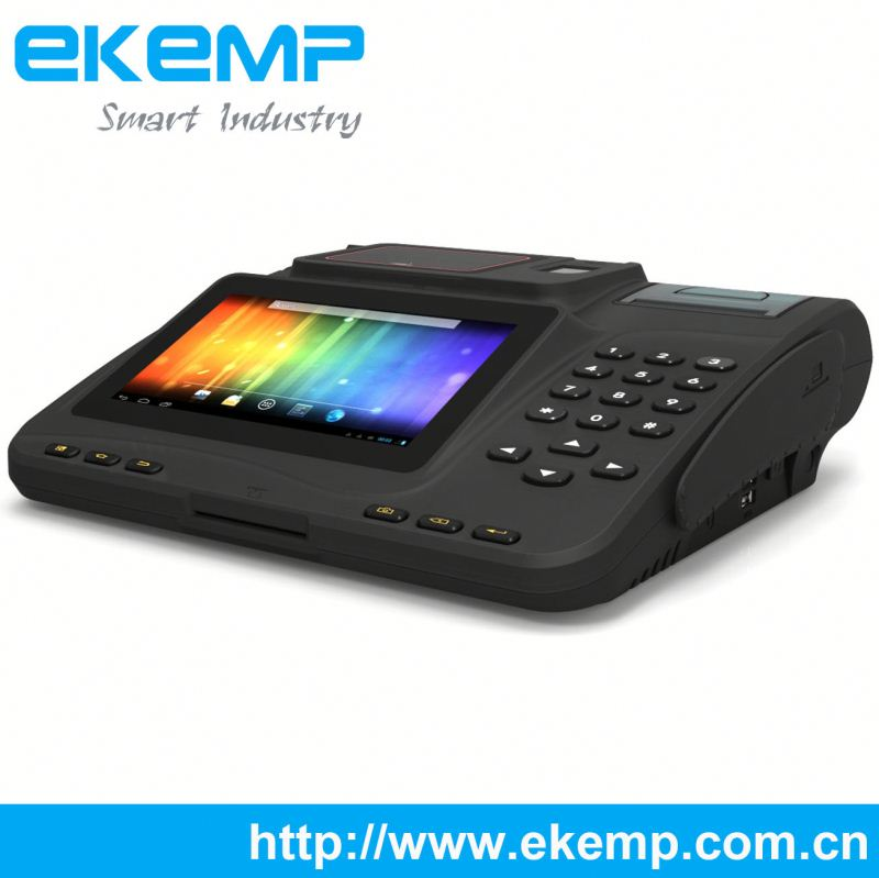Desktop Voter Verification&e-tranfer POS Terminal with Secure Pin Pad