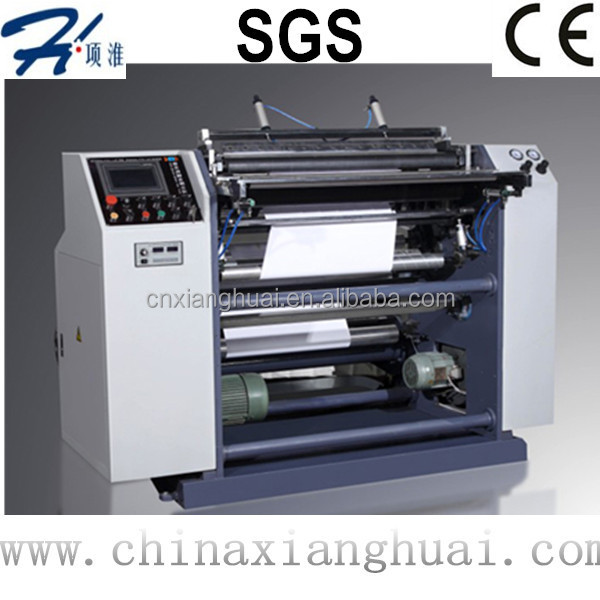 Taxi receipt Thermal Paper Slitter and Rewinder.Ticket Slitting Rewinding Machine supplier