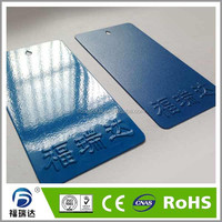 Blue Fine wrinkle spray thermosetting powder coating paints